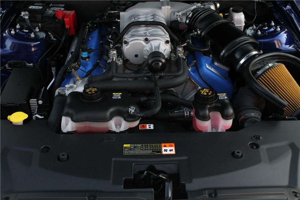 2013 SHELBY GT500 CONVERTIBLE - Engine - 157338