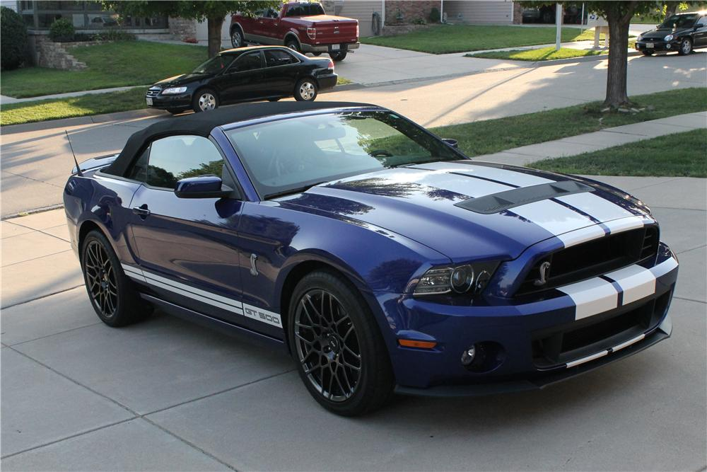 2013 shelby gt500 convertible 157338. Black Bedroom Furniture Sets. Home Design Ideas