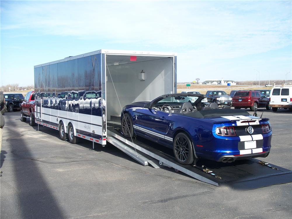 2013 INTECH TRAILERS COBRA EDITION TRAILER - Rear 3/4 - 157339