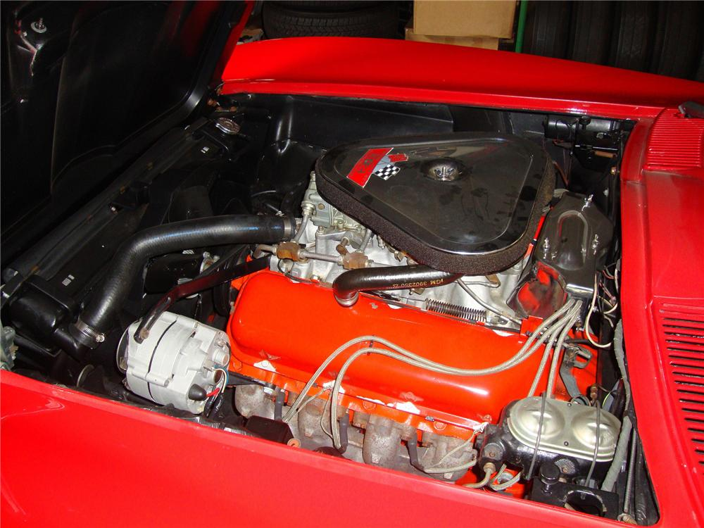 1967 CHEVROLET CORVETTE CONVERTIBLE - Engine - 157341