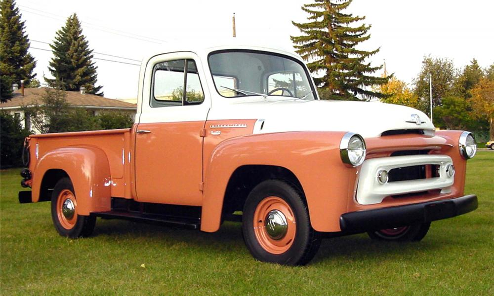 1956 INTERNATIONAL S100 PICKUP - Front 3/4 - 15735