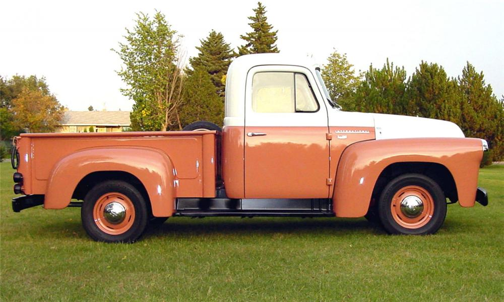 1956 INTERNATIONAL S100 PICKUP - Side Profile - 15735