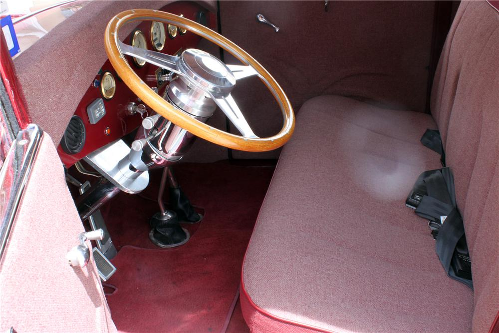 1931 FORD MODEL T CUSTOM PICKUP - Interior - 157353