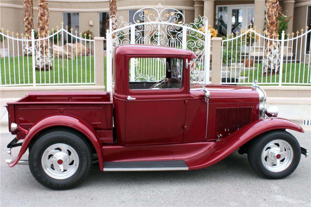 1931 FORD MODEL T CUSTOM PICKUP - Side Profile - 157353