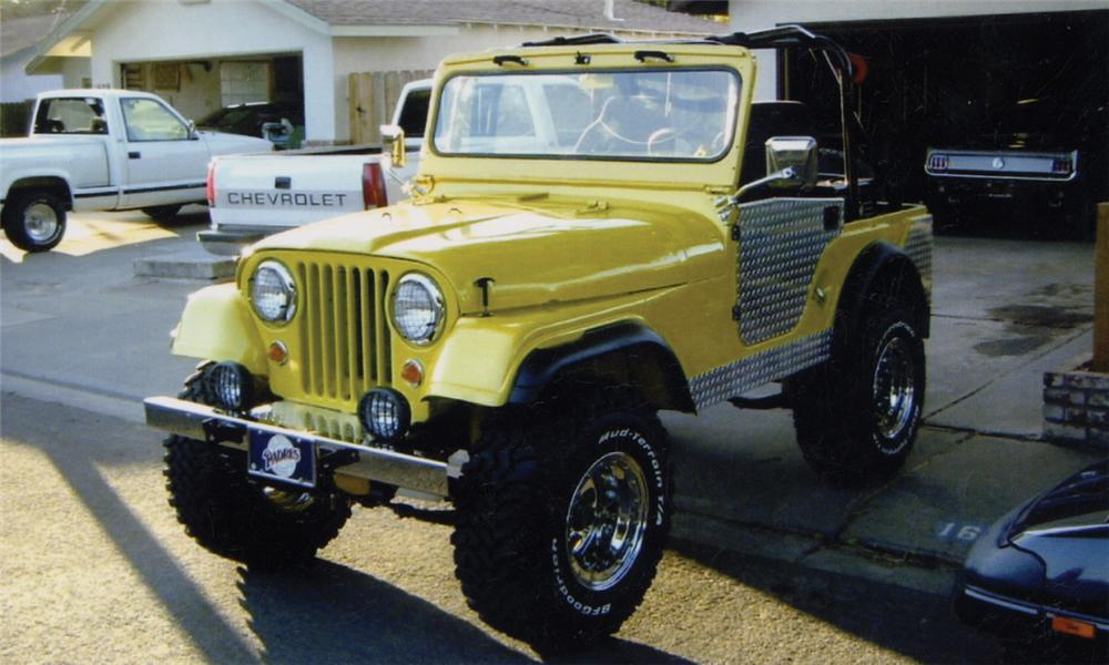 1955 WILLYS JEEP   - Front 3/4 - 15736