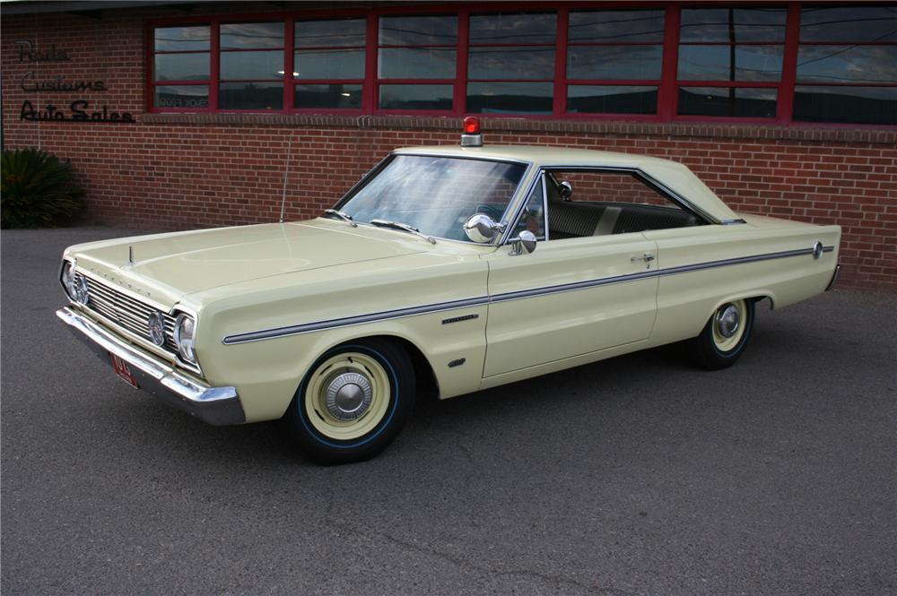 1966 PLYMOUTH BELVEDERE 2 DOOR HARDTOP - Side Profile - 157362