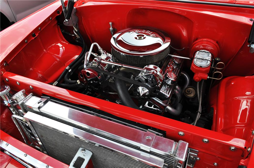1955 CHEVROLET BEL AIR COUPE - Engine - 157364