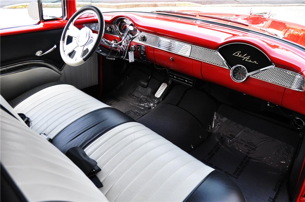 1955 CHEVROLET BEL AIR COUPE - Interior - 157364