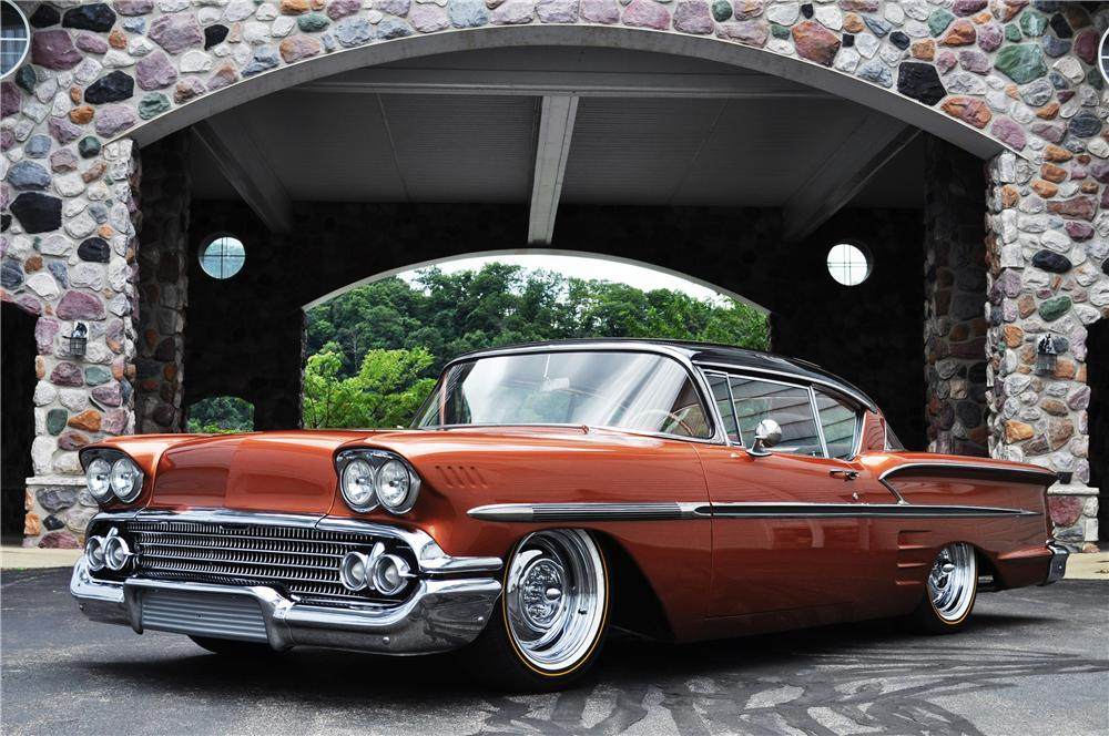 Chevy On The Blvd >> 1958 CHEVROLET IMPALA CUSTOM 2 DOOR COUPE