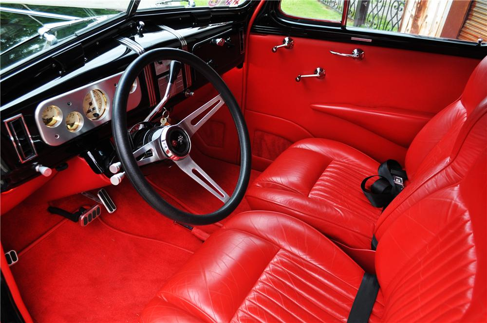 1937 CHEVROLET MASTER CUSTOM 2 DOOR COUPE - Interior - 157366