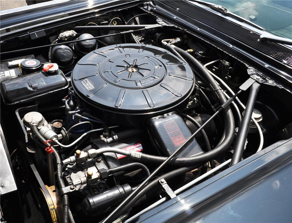 1963 LINCOLN CONTINENTAL CONVERTIBLE - Engine - 157369