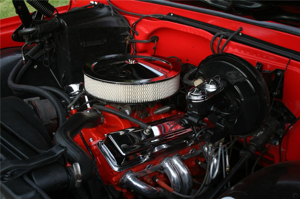 1970 CHEVROLET C-10 CUSTOM PICKUP - Engine - 157370