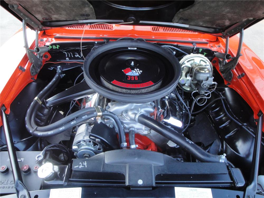 1969 CHEVROLET CAMARO 2 DOOR COUPE - Engine - 157379
