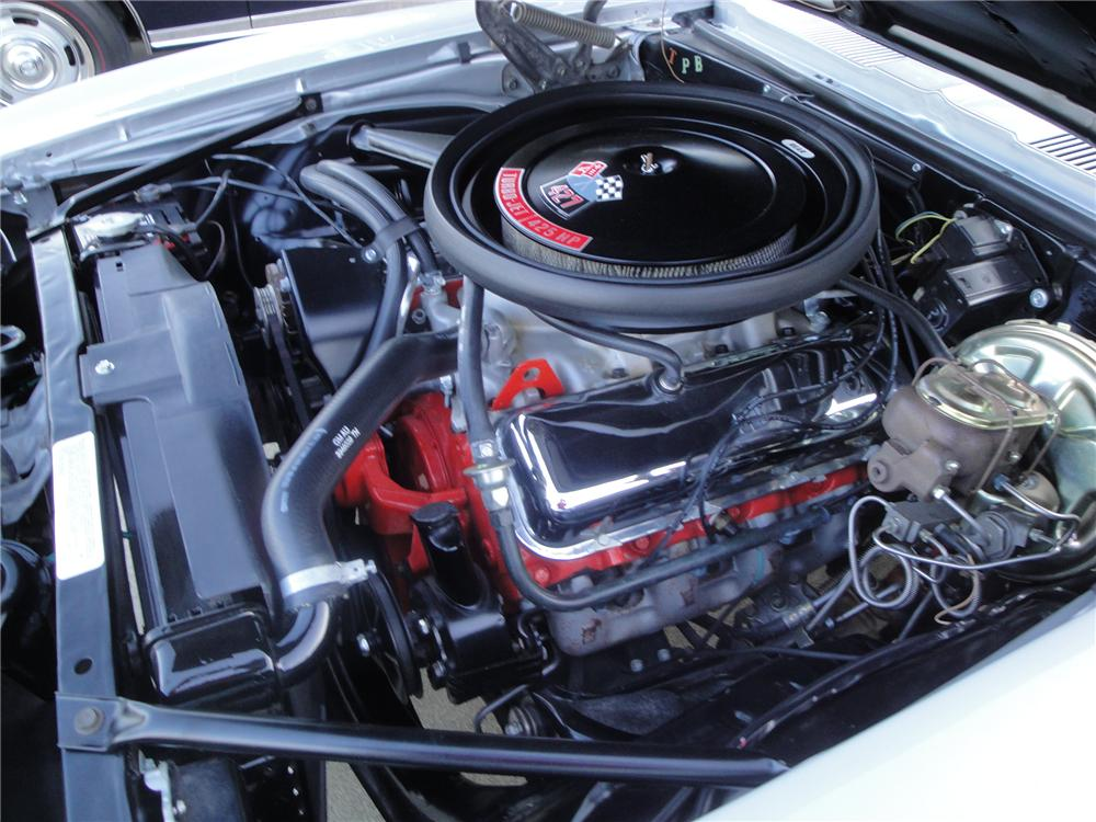 1969 CHEVROLET CAMARO COPO 2 DOOR COUPE - Engine - 157381