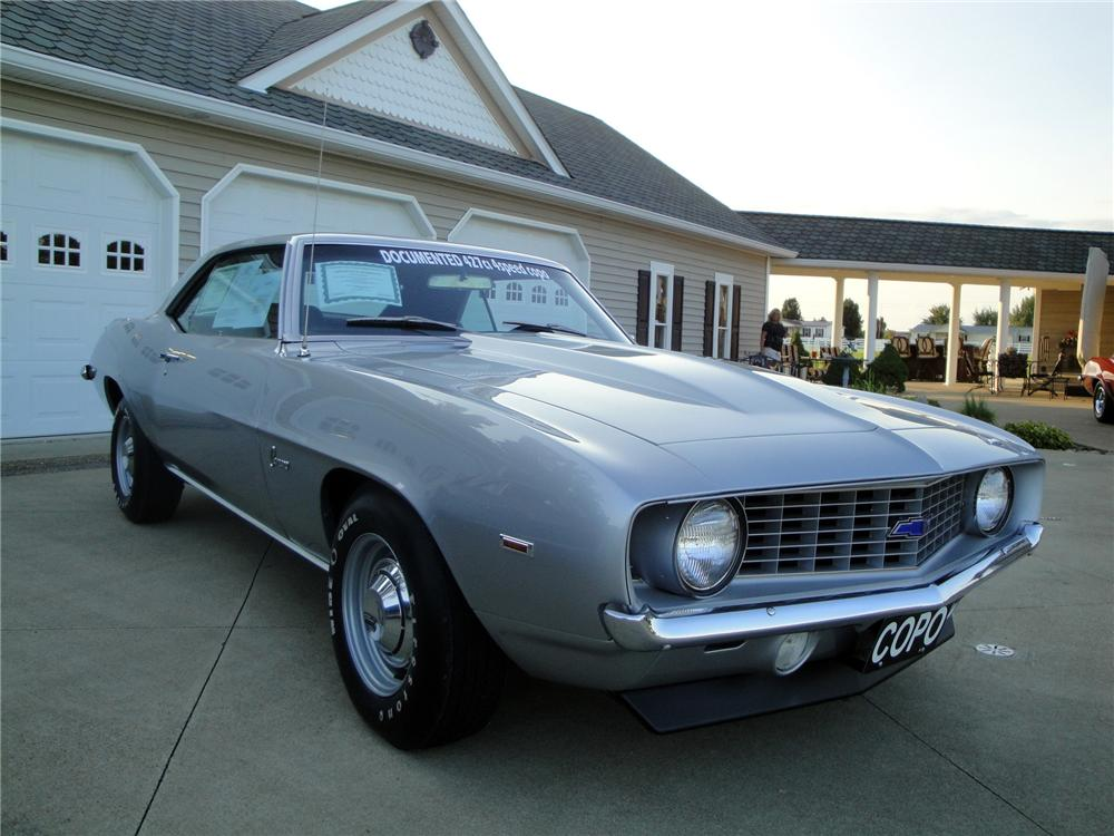 1969 CHEVROLET CAMARO COPO 2 DOOR COUPE - Front 3/4 - 157381