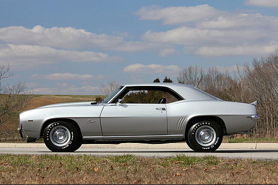 1969 CHEVROLET CAMARO COPO 2 DOOR COUPE - Side Profile - 157381