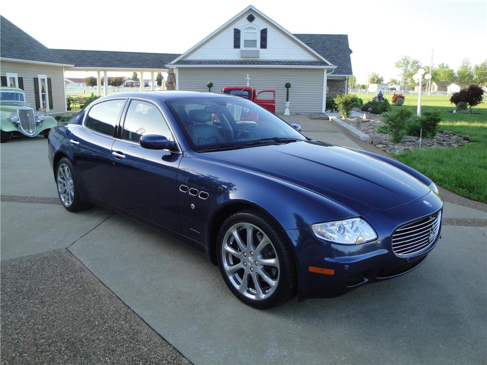 2006 maserati quattro porte 4 door sedan 157383. Black Bedroom Furniture Sets. Home Design Ideas