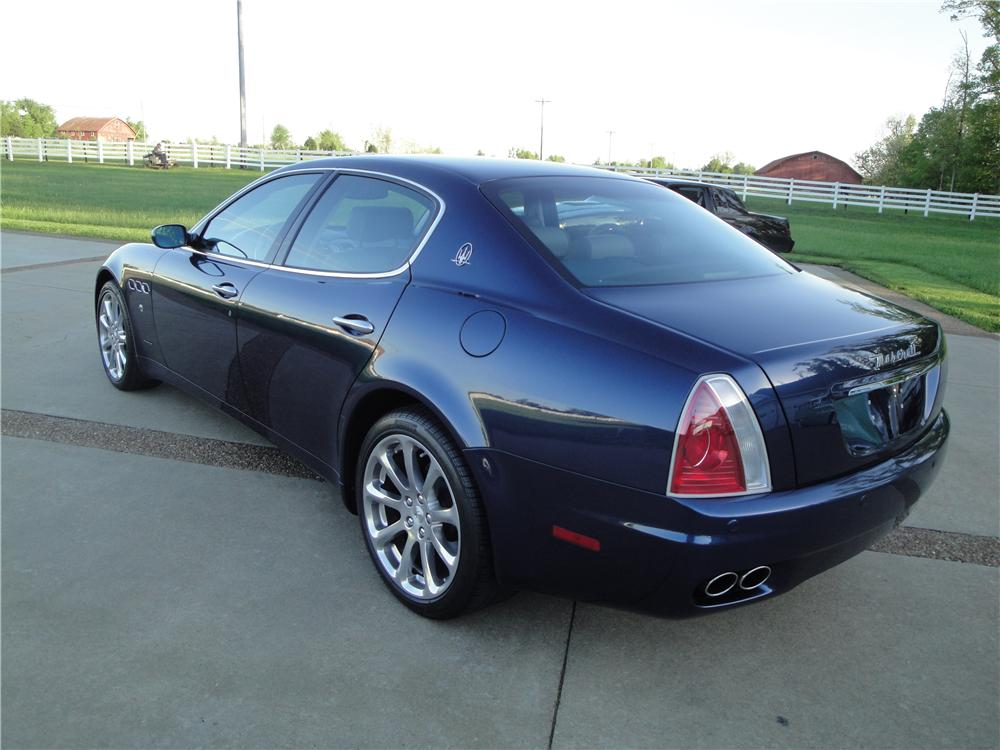 2006 MASERATI QUATTRO PORTE 4 DOOR SEDAN - Rear 3/4 - 157383