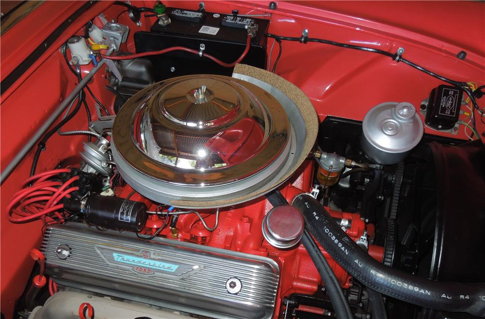 1955 FORD THUNDERBIRD CONVERTIBLE - Engine - 157386
