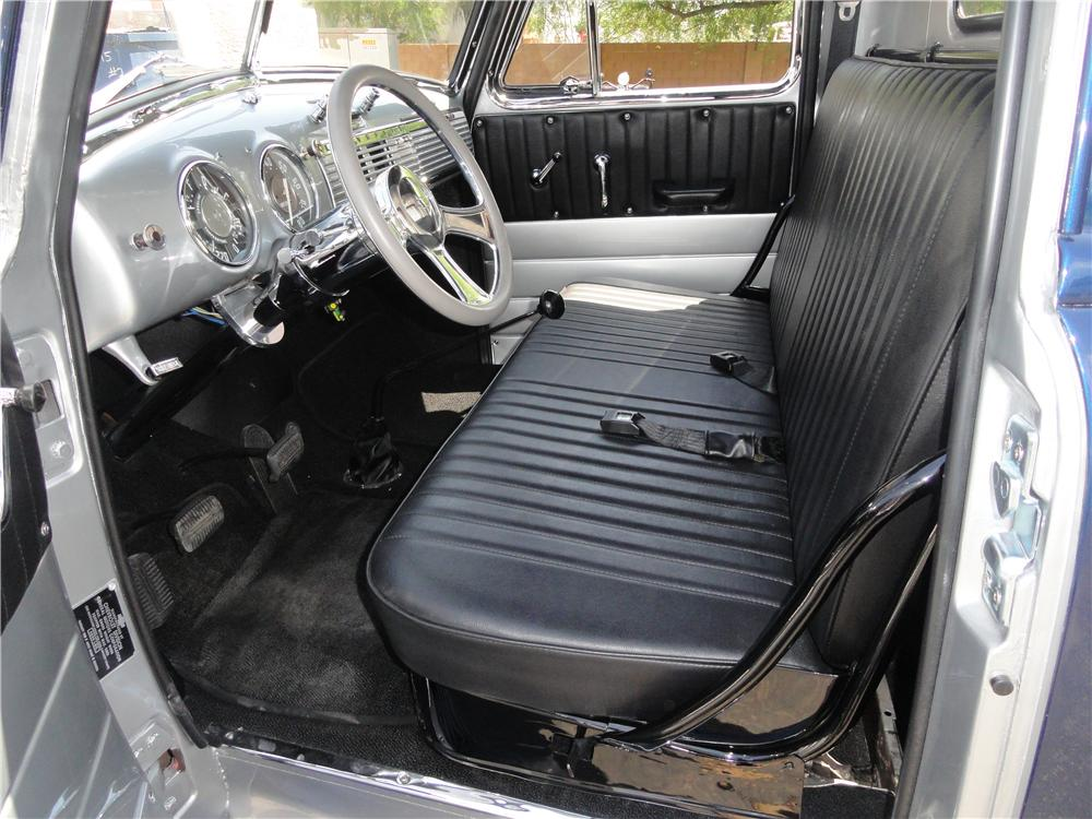 1951 CHEVROLET 3100 PICKUP - Interior - 157390