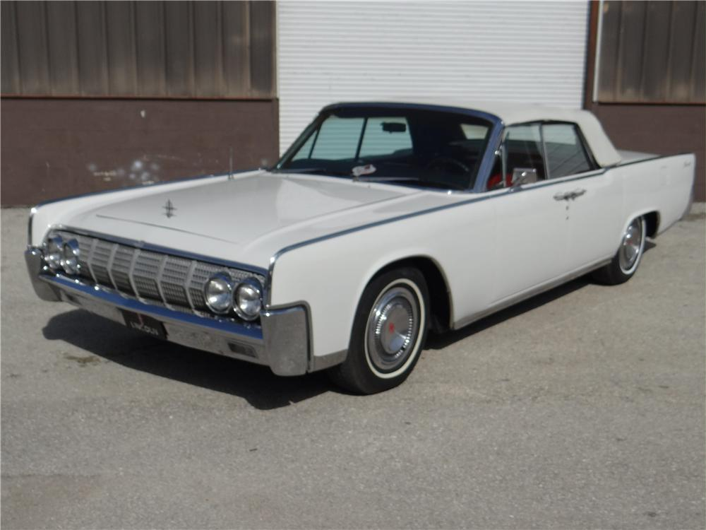 1964 lincoln continental convertible 157396. Black Bedroom Furniture Sets. Home Design Ideas