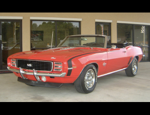 1969 CHEVROLET CAMARO RS/SS CONVERTIBLE -  - 15740