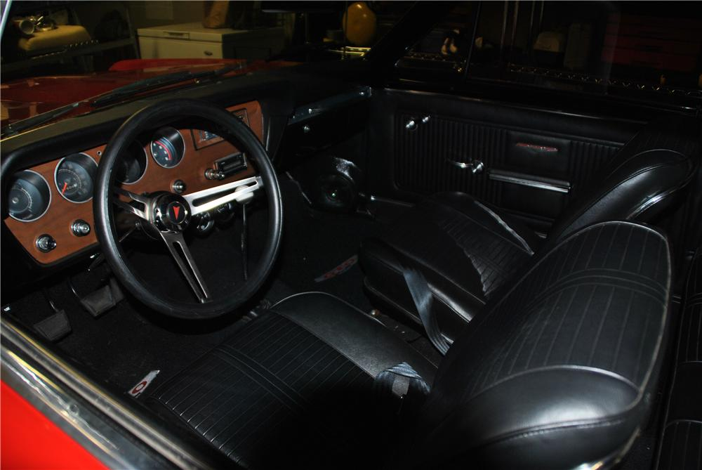 1966 PONTIAC GTO CUSTOM 2 DOOR COUPE - Interior - 157403