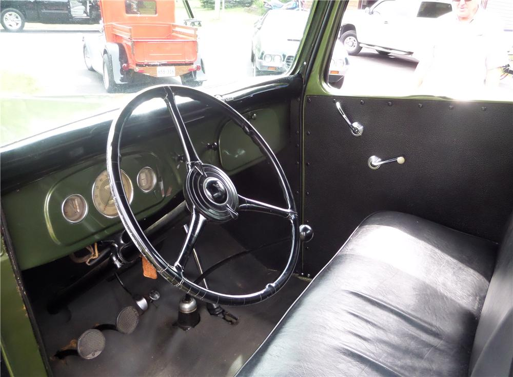 1935 FORD 1/2 TON PICKUP - Interior - 157405