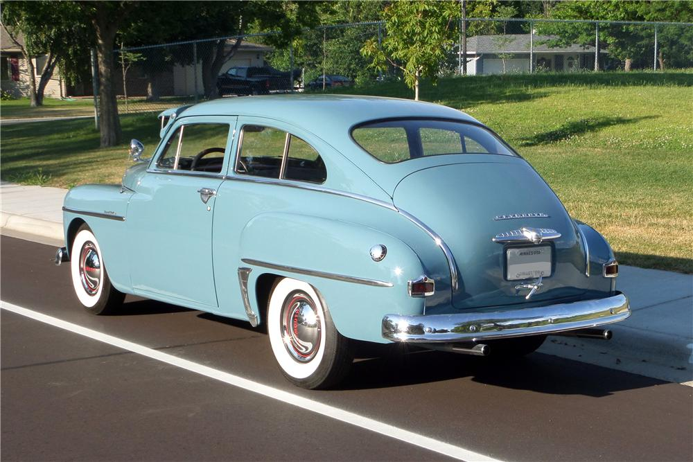 1950 plymouth deluxe 2 door sedan 157411