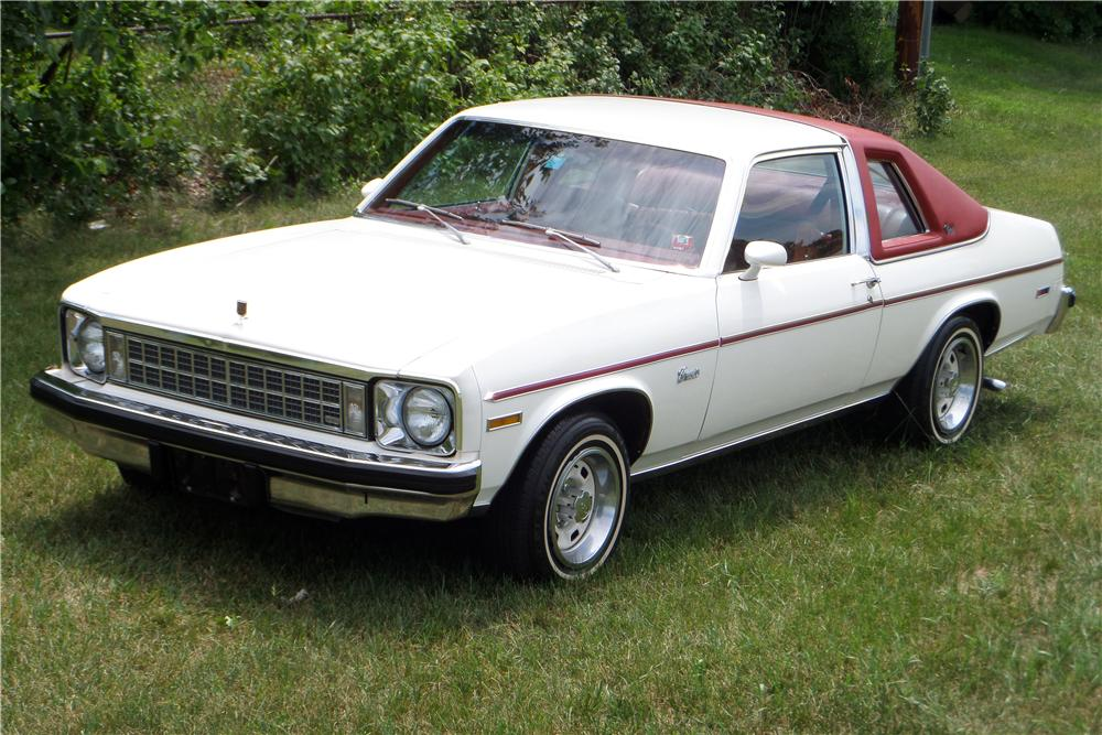 1976 CHEVROLET NOVA 2 DOOR COUPE - Front 3/4 - 157412