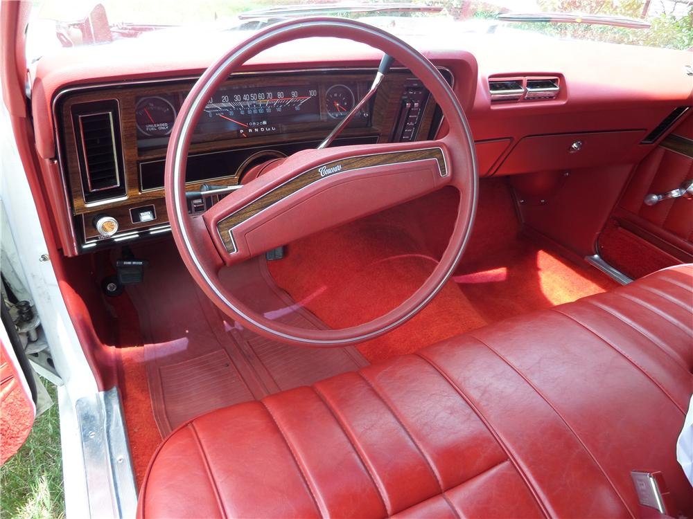 1976 CHEVROLET NOVA 2 DOOR COUPE - Interior - 157412