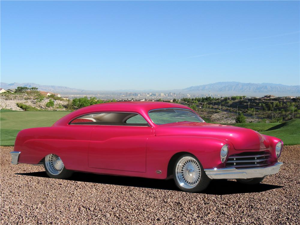 """1951 MERCURY CUSTOM COUPE """"THE ROSE"""" - Front 3/4 - 157415"""
