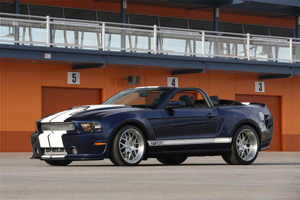 2012 SHELBY GT350 CONVERTIBLE - Front 3/4 - 157416