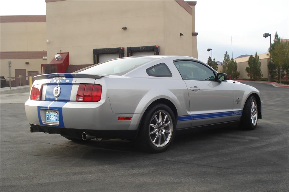 2009 SHELBY GT500 KR 2 DOOR COUPE - Rear 3/4 - 157418