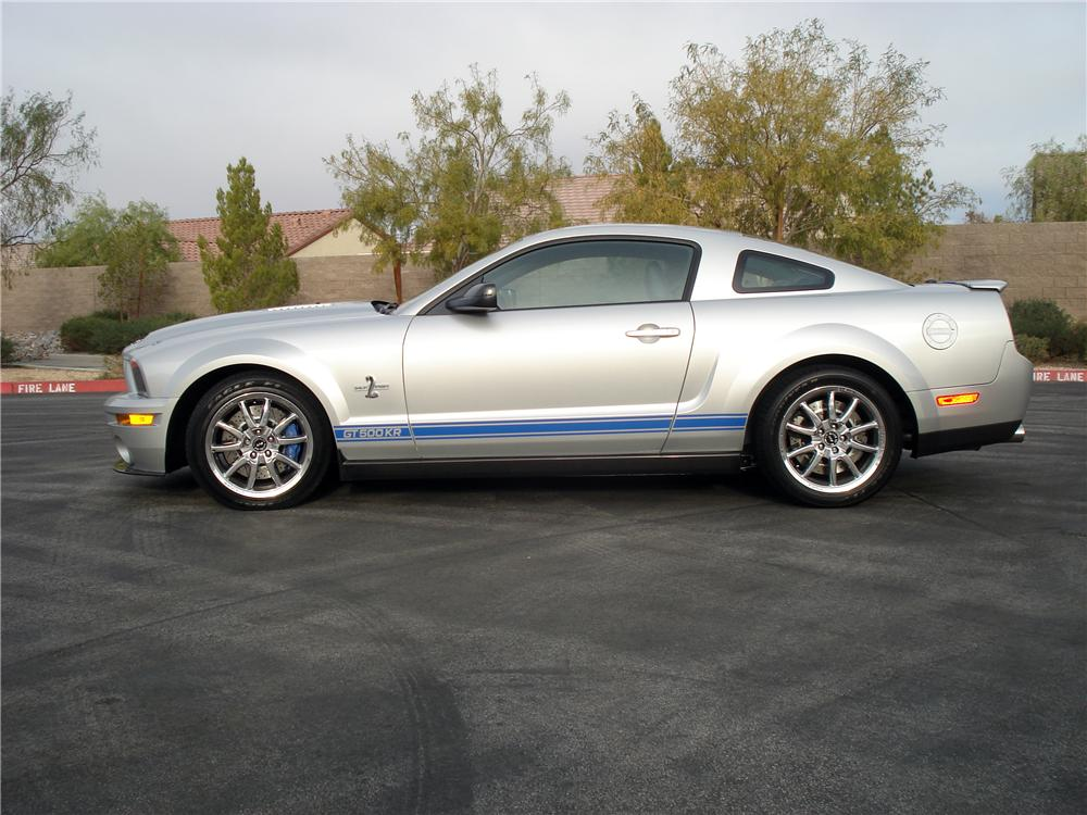 2009 SHELBY GT500 KR 2 DOOR COUPE - Side Profile - 157418