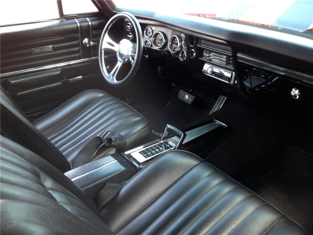 1968 CHEVROLET CHEVELLE SS CUSTOM 2 DOOR COUPE - Interior - 157420