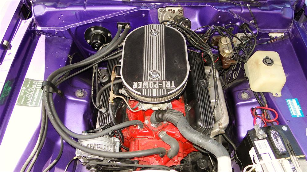 1971 DODGE DEMON 340 GSS 2 DOOR COUPE - Engine - 157429