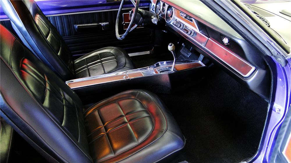 1971 DODGE DEMON 340 GSS 2 DOOR COUPE - Interior - 157429