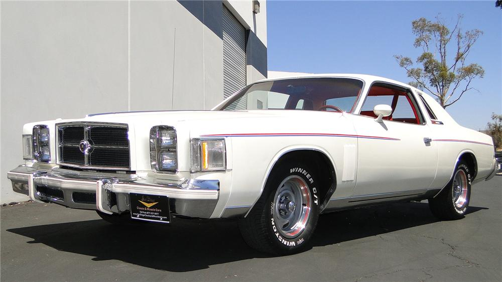 1979 CHRYSLER 300 2 DOOR COUPE - Front 3/4 - 157431