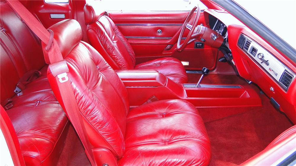 1979 CHRYSLER 300 2 DOOR COUPE - Interior - 157431