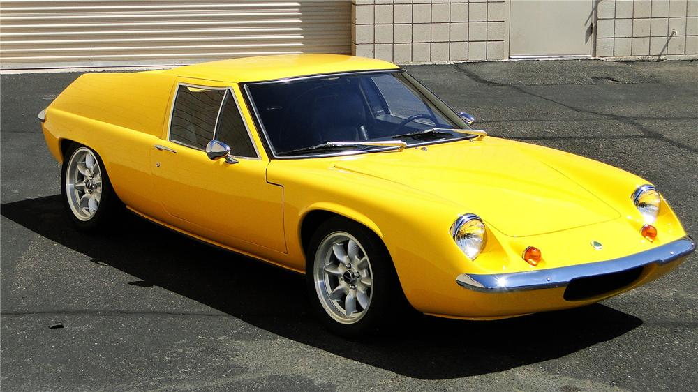 1970 LOTUS EUROPA S2 2 DOOR COUPE - Front 3/4 - 157435