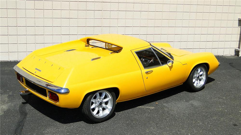 1970 LOTUS EUROPA S2 2 DOOR COUPE - Side Profile - 157435