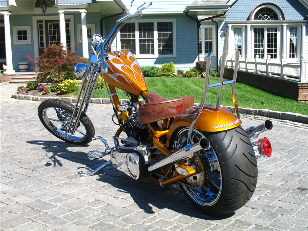 2005 CUSTOM RED NECK CHOPPER - Rear 3/4 - 157438