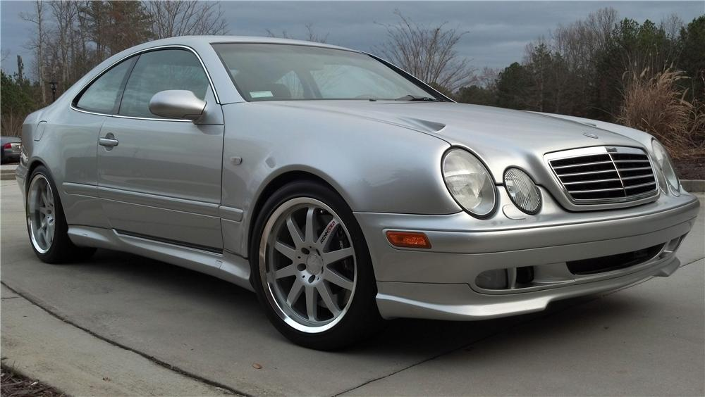 1999 MERCEDES-BENZ CLK60 GT RENNTECH WIDEBODY COUPE - Front 3/4 - 157446