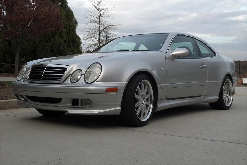 1999 MERCEDES-BENZ CLK60 GT RENNTECH WIDEBODY COUPE - Side Profile - 157446