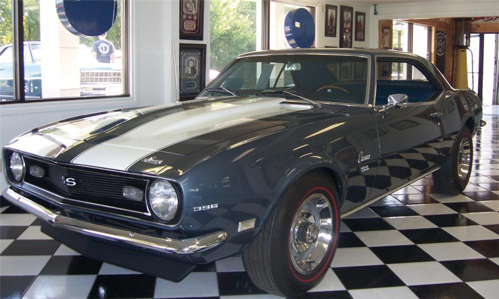 1968 CHEVROLET CAMARO SS COUPE - Front 3/4 - 15745