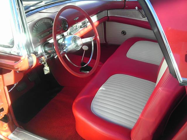1955 FORD THUNDERBIRD CONVERTIBLE - Interior - 157451