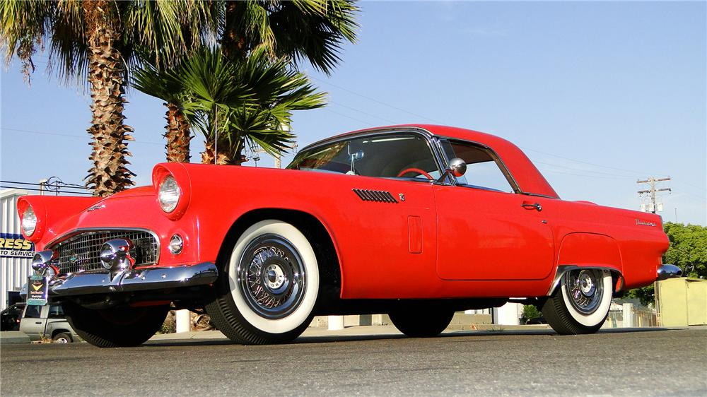 1955 FORD THUNDERBIRD CONVERTIBLE - Side Profile - 157451