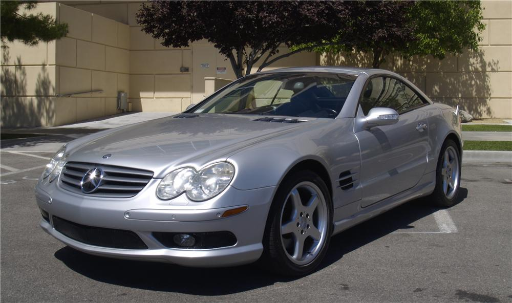 2003 mercedes benz sl500 convertible 157453 for Mercedes benz sl convertible