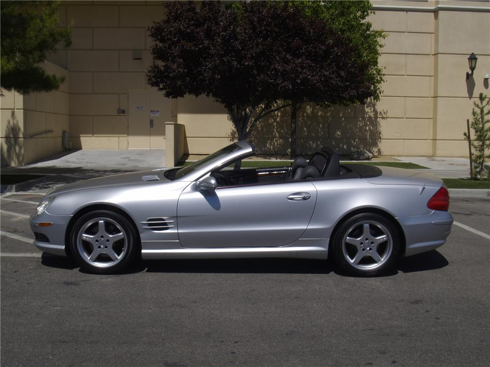 2003 Mercedes Benz Sl500 Convertible 157453